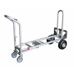 Carretilla de aluminio multiposiciones modo carro