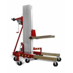 Elevador manual plegable de 200 KG de capacidad