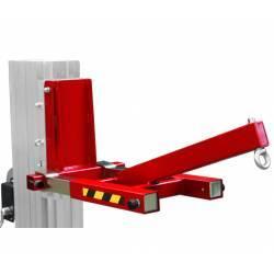 Adaptador brazo pescante para elevador manual plegable de 200/300/400 kg de capacidad