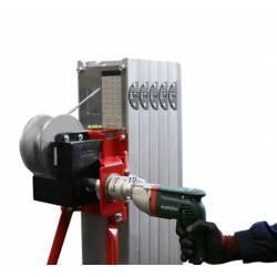 Sistema de elevación eléctrico para elevador manual plegable de 200/300/400 kg de capacidad