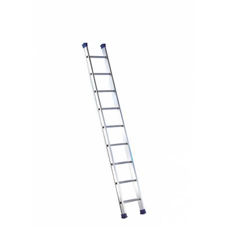 Escalera de aluminio de un tramo para trabajar en apoyo