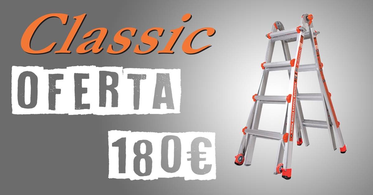 OFERTA CLASSIC LITTLE GIANT